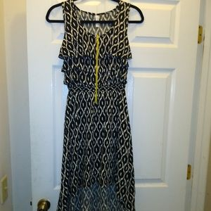 High-low style dress